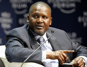 aliko (Africa's Richest man Dangote Launches Major Expansion Drive)