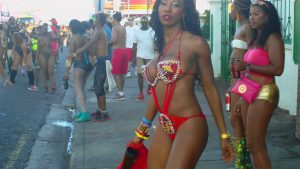 It's a street party during the carnival, grouping Africans across  the globe and many other foreign parts...