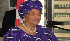 Sirleaf, Liberia's 24th president