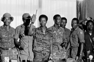Samuel_K__Doe_During_the_1980_Coup (Liberia: Remembering the 1980 Coup & Samuel Doe)