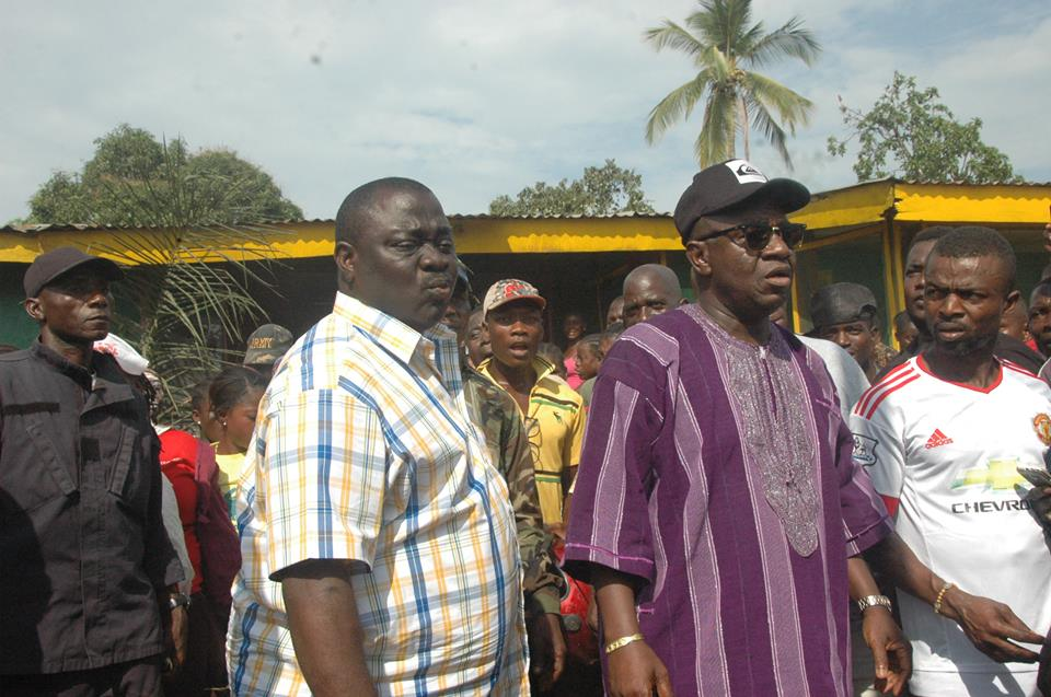 Tyler is said to be one of Liberia's richest men