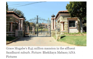 First Lady Dr. Grace Mugabe Buys  Exotic Mansion In Affluent Sanhurst