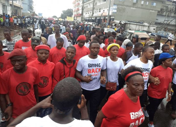 """Surmounting all odds in pursuit of public accountability and transparency, thousands of patriotic Liberians defied the heavy downpour of rain on September 24, 2018 to send a clarion message to the International Community and the government of ex-Soccer Star George M. Weah. The bottom line was """"Bring Back Our L$16 billion and US$25 million""""."""