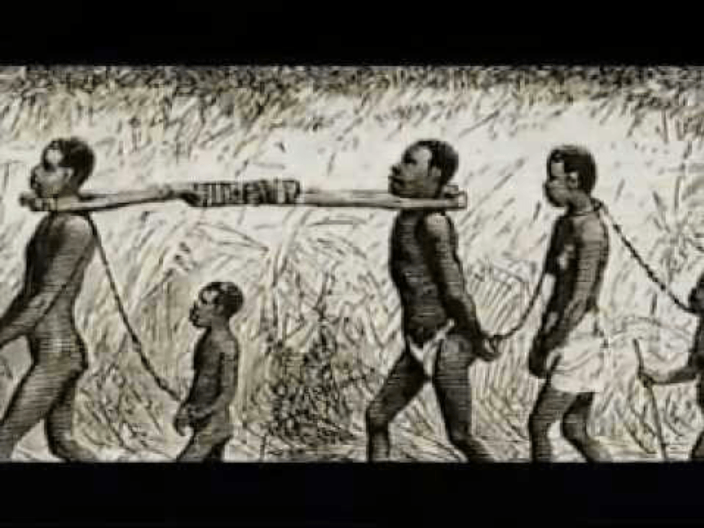But everything changed, when Garley was captured by troops working for top Liberian government officials, who were tasked with forcibly recruiting people to work on the Spanish-owned sugar cane, coffee and cocoa plantations in Fernando Po (located in current day Equatorial Guinea and parts of Gabon). Many of these forced recruits were abducted from the southeastern region of Liberia. Munah waited as the days turned to weeks and the weeks to months but her husband did not return. After six months she walked alone on the 155-kilometer bush road back to Grand Gedeh. It took her weeks to reach home. When she finally reached, she ignored pains of the sores in her feet and ran around Pelezon Town beating her breast and crying as she told her ordeal.