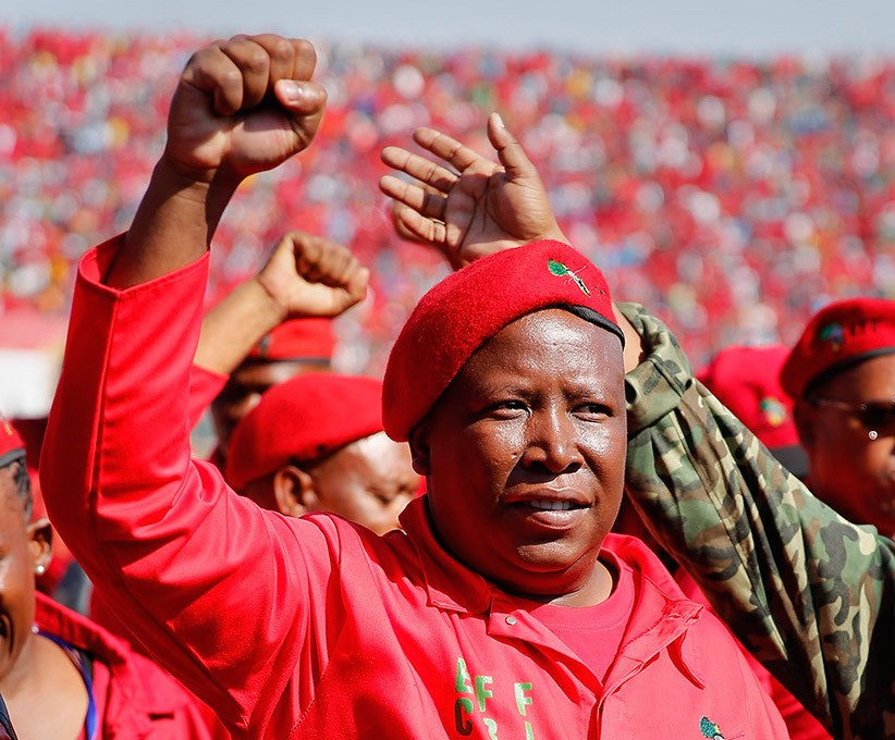 The EFF is South Africa's third-largest party with 44 parliamentary seats and representation in most municipalities and metros. The party's vision appeared to be inspired by late Libyan leader Muammar Gaddafi who dreamt of a United States of Africa. This plan could well be underway with formations from Liberia, Malawi, and Namibia who were among the guests attending the second people's assembly in Nasrec. culled: EWN