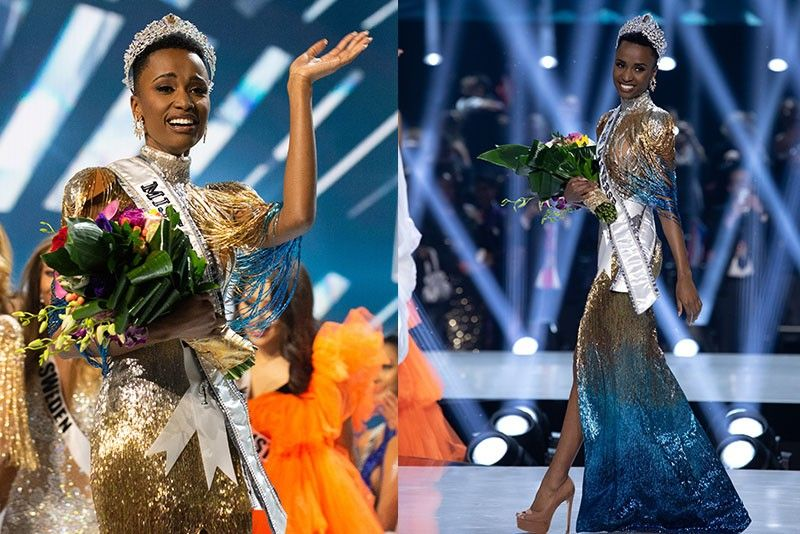 """It has already made history with Miss Myanmar, Swe Zin Htet, who says she's the first openly gay contestant. Last year's winner, Catriona Gray from the Philippines spoke during Sunday's pageant, saying the past year has been """"unforgettable, life-changing and purposeful. We're getting this amazing platform to voice the things we're passionate about, the things we care about,"""" she said in a video. """"I always had a voice, but Miss Universe allowed me to amplify it."""""""