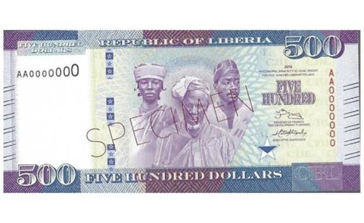 liberian bank notes