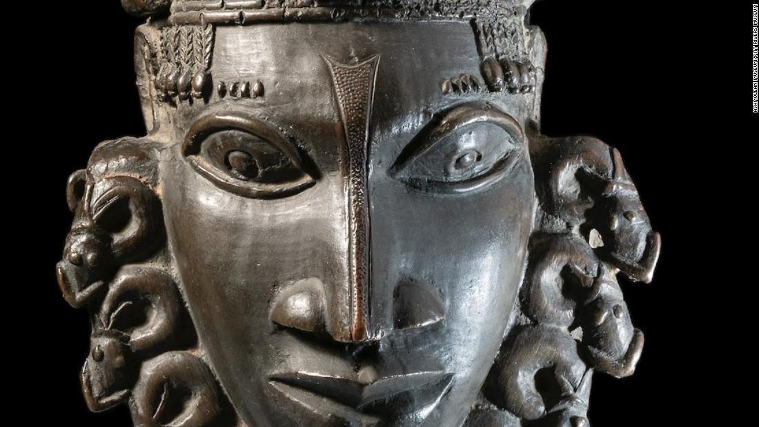 looted african art cnn.com