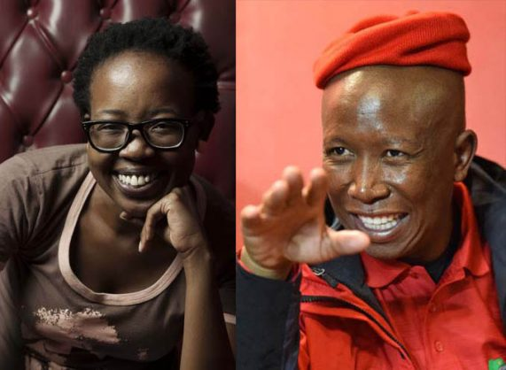 """Economic Freedom Fighters leader Julius Malema was definitely not woke, added Mazwai, who claimed to be closer to Robert Sobukwe and Steve Biko in ideology than Malema. In a video she posted on social media on Friday, she said: """"Julius Malema is not woke. He's a man that holds a lot of power. He's thriving in our community because he's the type of man that Christianity has created."""""""
