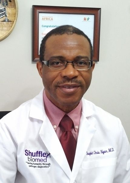 "Recently on Truth FM and Ok FM in Liberia, Dr. Nyan continued to provide COVID-19 Awareness through radio broadcast relayed in many parts of the country. He supported the use of face mask, advised against ""self-medicating with Chloroquine and Hydroxychloroquine,"" and described rumors of the link between 5G and Coronavirus outbreak as a mere conspiracy theory that should not be believed."