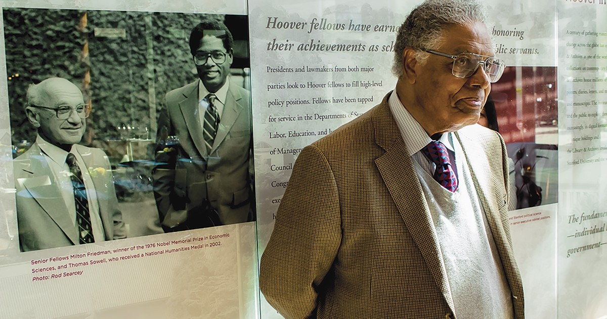 Sowell earned his Doctor of Philosophy degree in economics from the University of Chicago in 1968,was an assistant professor of economics at Cornell University, taught economics at Howard University, Rutgers, Cornell, Brandeis University, Amherst College, and the University of California, Los Angeles. Since 1980, he has been a Senior Fellow of the Hoover Institution at Stanford University,2.