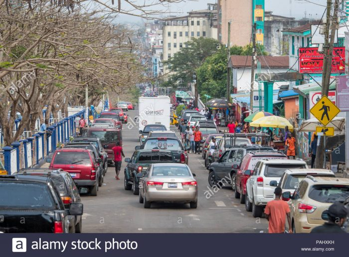 the streets of monrovia